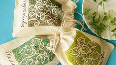Originální sáček na balinky do kuchyně si lze s trochou zručnosti vyrobit i doma.