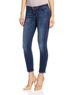 Chouyatou Womens Casual Relaxed Fit Distressed Boyfriend Jean Small Blue * Details can be found by clicking on the image.