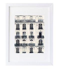 Paris Balconies Print