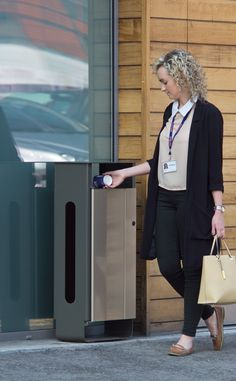 The Electra™ is the perfect outdoor litter bin designed for modern environments…