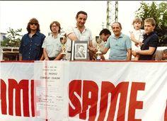 1982 Torneo bocce dipendenti Same