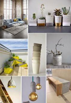 Concrete DIYs | Beton Accessoires selber machen