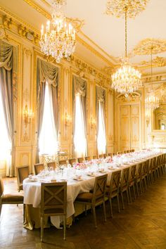 Shangri-La in Paris, France: http://www.stylemepretty.com/collection/1405/