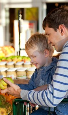 Do you enjoy trips to the farmers' market? Here's how you can make it a family ADVENTURE. There's a game in here you can play with your kids during the whole time that's pretty neat!