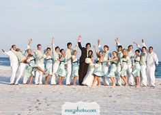 OH I had to add this pic cause this is about as big as our wedding party.