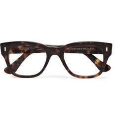 Cutler and Gross Tortoiseshell Semi-Square Optical Glasses