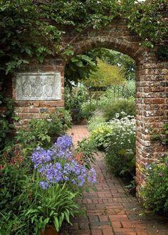 "pagewoman: "" Sissinghurst Castle Garden, Kent, England """