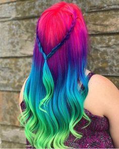 "5,255 Likes, 24 Comments - Pulp Riot Hair Color (@pulpriothair) on Instagram: ""@hairby_milly_mermaid is the artist... Pulp Riot is the paint."""