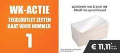 ≥ Wandtegel 30x60 cm hooglans nu € 11,11 incl.btw - Tegels - Marktplaats.nl tegeloutlet zetten