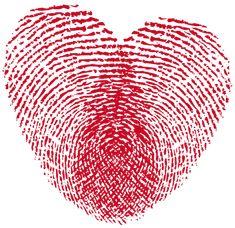 Heart Print PNG Clipart