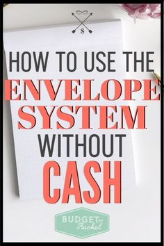 Want to use the envelope system but don't want to carry cash? No problem! Learn how to use this awesome budgeting tool without having to carry cash with you. It works the same and will help you stick to your budget! #budget #budgettips #savemoney Budget Envelopes, Cash Envelopes, Planning Budget, Budget Planner, Financial Planning, Monthly Budget, Money Planner, Planner Book, Money Saving Challenge
