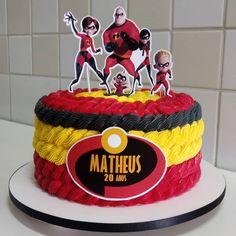 6th Birthday Parties, Baby Birthday, Birthday Celebration, Birthday Cake Decorating, Birthday Party Decorations, Incredibles Birthday Party, Bithday Cake, Second Birthday Ideas, Rosalie