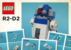 LEGO: R2-D2 Instractions | Here (5MB) www.mediafire.com/view… | Flickr
