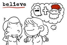 believe - believed - believed