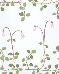 "Wallpaper ""Linnea"" from Sandberg. 870 SEK/roll"