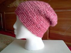 Crochet Slouchy Beanie  Crochet Hat  Rose Pink and by CrochetInSA, $14.00