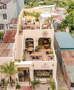Cafe Shop Design, Cafe Interior Design, Cafe Floor Plan, Outdoor Restaurant Design, Beautiful Homes, Beautiful Places, Study Room Decor, Tips Belleza, Modern House Design