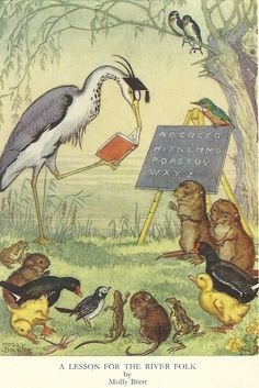 A lesson for the river folk by molly brett. #reading #books