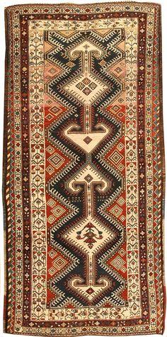 Antique Kurdish Persian Rugs #43308  http://nazmiyalantiquerugs.com/antique-rugs/kurdish/