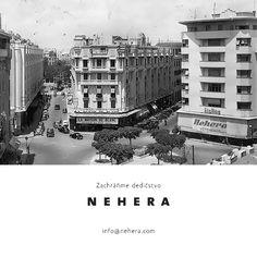 Zachráňme dedičstvo Našli ste doma odevy značky NEHERA spred roku 1948? Prípadne plagáty, letáky, firemné noviny, pohľadnice alebo staré fotografie? Napíšte nám na info@nehera.com a pomôžte nám vytvoriť historický archív značky. #nehera