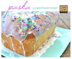 PASKA is a delicious Mennonite dessert that's a cross between bread and cake, served at Easter. Warning: one slice is NEVER enough! (a recipe is linked to this photo) via Funky Junk Interiors