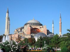 The Hagia Sophia, one of the most famous buildings in the world.