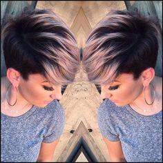 10 Einfach, Frauen Kurze Frisuren Inspiration: Pixie Frisuren ... | Einfache Frisuren