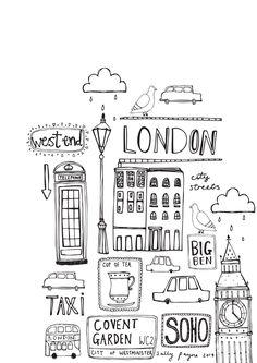 Illustration Londonb_w--sallypayne2014