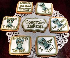 """Jeff Dunham's """"Achmed"""" Theme Decorated Cookies!"""