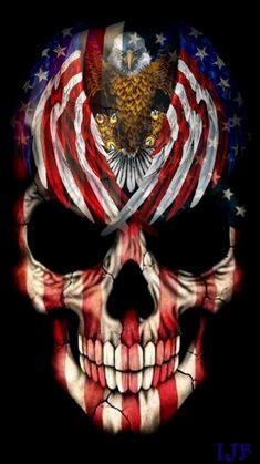 Shop Pirate Skull Case-Mate iPhone Case created by EverythingDigital. Skull Flag, Pirate Skull, Badass Drawings, Art Drawings, Tattoo Fairy, American Flag Wallpaper, Arte Cholo, Grim Reaper Art, Badass Skulls