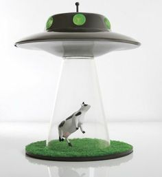 Abduction lamp! Who possibly wouldn't want one of these?