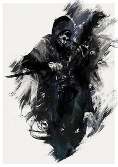 It is really fun to use game characters in RPG as NPCs. And really, really, RE.- It is really fun to use game characters in RPG as NPCs… And really, really, REALLY fun to use them as villains… (Corvo from Dishonored by AJ Hateley) Dark Fantasy Art, Dark Art, Assasin Creed Unity, Arte Ninja, Art Anime, Video Game Art, Game Character, Character Sketches, Oeuvre D'art
