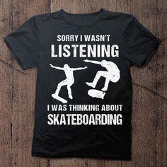 I Love Skateboarding Skateboard Shirts, Skateboard Pictures, Tee Shirts, Tees, Skateboarding, Gifts For Family, Shirts For Girls, Profile, Bag