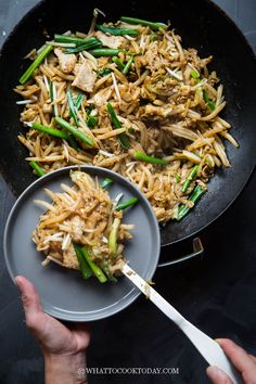 Cambodian Lort Cha (with Stir-fry Techniques You Need To Know). Learn how to make Cambodian lort cha (stir-fried short rice noodles) with delicious stir-fry techniques and simple steps you need to know. Cambodian Desserts, Cambodian Food, Cambodian Recipes, Stir Fry Technique, Asian Recipes, Ethnic Recipes, Asian Foods, Vietnamese Recipes, Asian Cooking