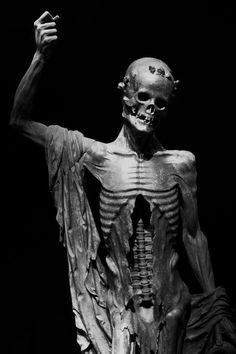 """~  La """"Mort Saint-Innocent"""" vers 1530 Provenant du cimetière des Innocents à Paris Black & White Photograph."""