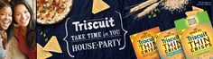 Free and Cheap: Host a TRISCUIT Take Time for You House Party