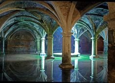 Old cistern at El Jadida where Kurt chased a double agent who was assassinated before Kurt could get information out of him. Abandoned Castles, Abandoned Buildings, Abandoned Places, Beautiful Places In The World, Oh The Places You'll Go, Misty Dawn, Fantasy City, Architectural Features, Photo Colour