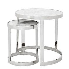 EICHHOLTZ Table Side #Fletcher Set Of 2