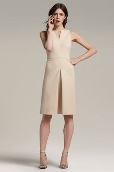 Cherie Dress :: Macadamia