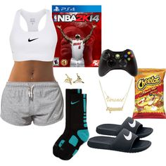 up late playing 2k with my boyfriend<3