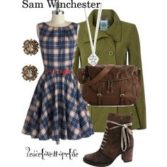 """""""Sam Winchester (Supernatural)"""" by peacelovehopelife on Polyvore"""