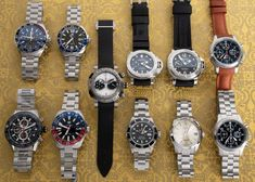 Today's update has something a bit different: The Joker from Romain Jerome!  Also posted are a handful of TAG Heuer's, an '09 16610 Sub, Grand Seiko, Panerai, and Fortis Chronographs. Romain Jerome, Popular Watches, Mechanical Watch, Tag Heuer, Whats New, Seiko, Chronograph, Rolex Watches, Joker
