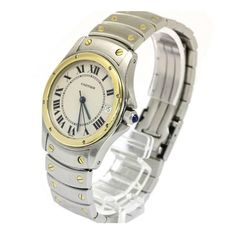 Cartier Panthere 18kt Yellow Gold and Stainless Steel Two-Tone Unisex Watch 1