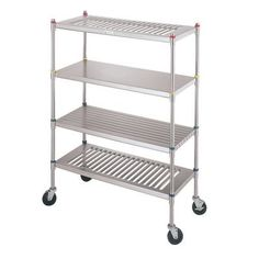 "IMC Teddy Budget Line 61"" H Four Shelf Shelving Unit Size: 61"" H x 54"" W x 27"" D"