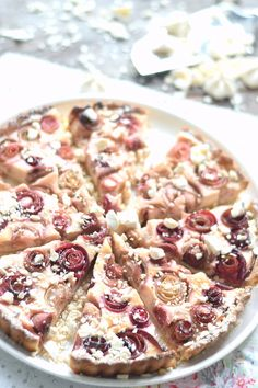 Rhabarber Cheesecake Baiser Tarte | Das Knusperstübchen