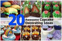 20 Awesome Cupcake Ideas