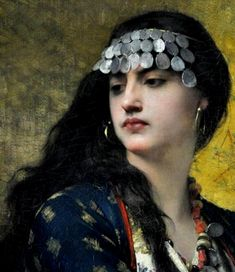 Renaissance Portraits, Renaissance Art, Santa Sara, Image Blog, Gypsy Girls, Exotic Art, Historical Women, Aesthetic Painting, Female Pictures