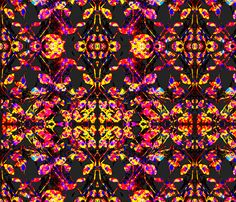 Shades of pink,yellow and purple fabric by ak-wilde on Spoonflower - custom fabric