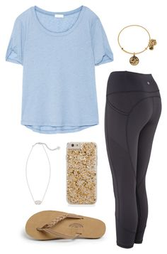 """""""Untitled #398"""" by classygrace ❤ liked on Polyvore featuring Splendid, Kendra Scott and Rainbow"""