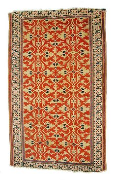 """Lotto"" Carpet - - - 16th C. Turkey"